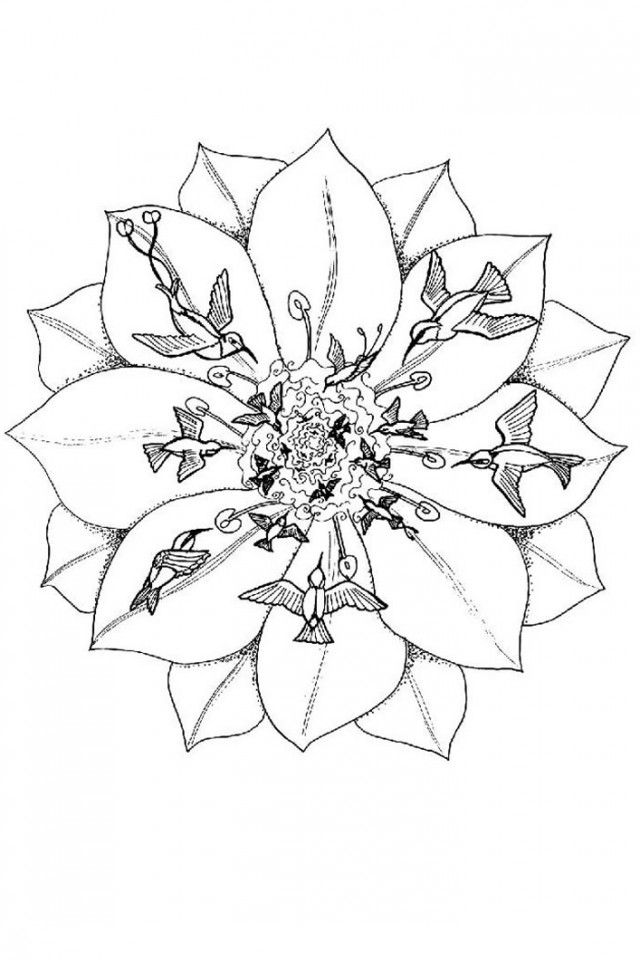 Christmas Mandala Coloring Pages | download free printable