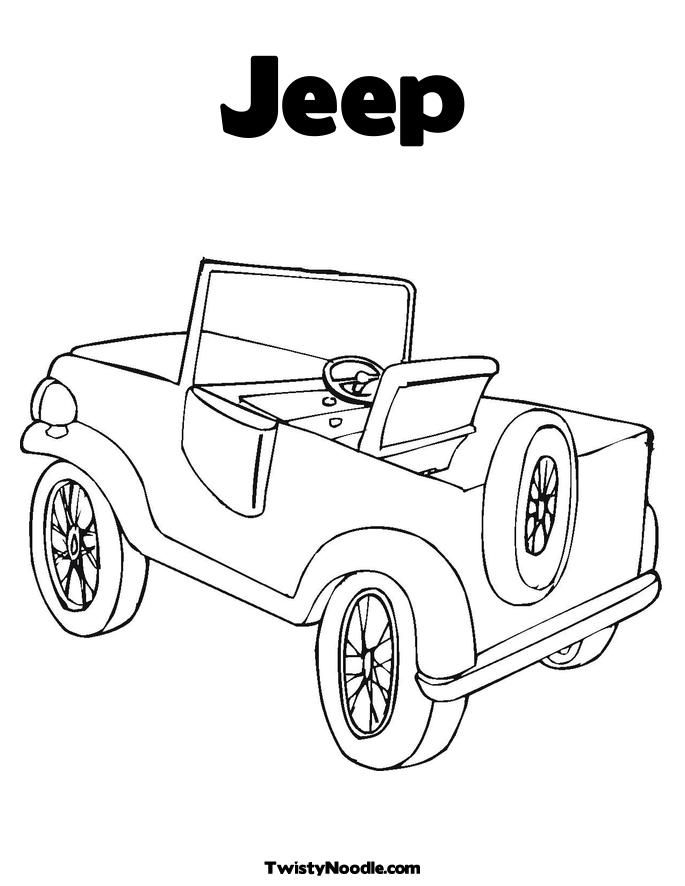 Safari Jeep Coloring Page images  Hd Image Galleries on