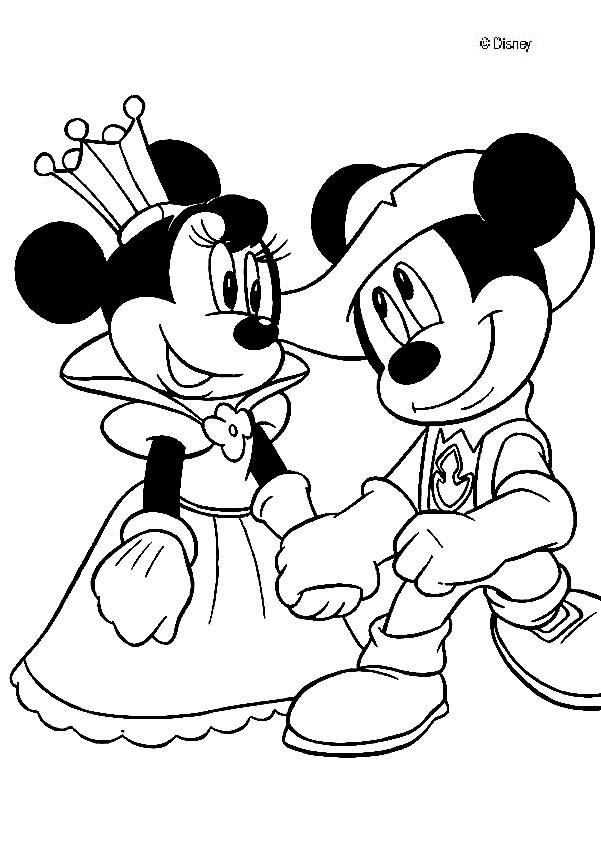 Disney mickey mouse and minnie clubhouse coloring pages for Mickey clubhouse coloring pages