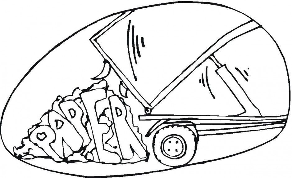 Cement Truck Coloring Pages For Cement Truck Coloring
