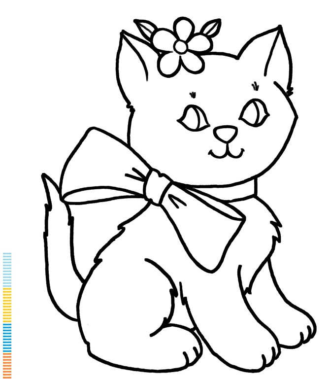 halloween cat coloring pages printables - photo#7