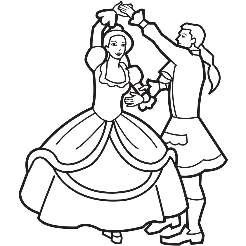dance games and coloring pages - photo#4
