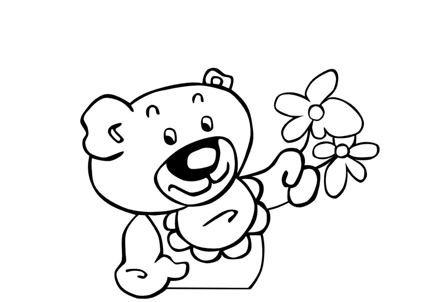 Teddy bear coloring pages free coloring pages for kidsfree for Fresh beat band coloring pages