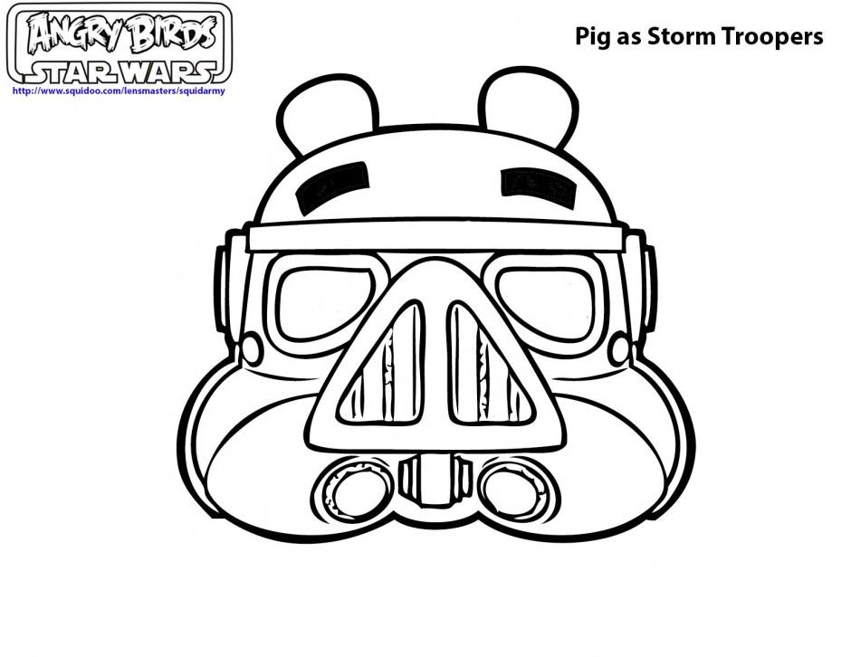 Angry Birds Star Wars Coloring Sheets - Coloring Home