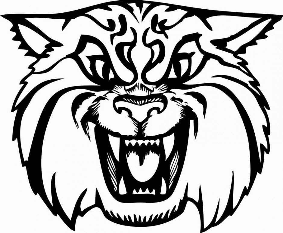 kentucky wildcat logo coloring pages - photo#21