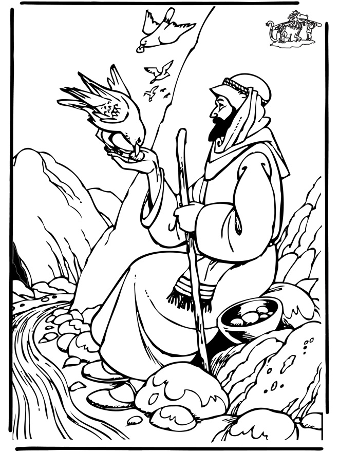 Free Coloring Pages Of Elijah Prophets Of Baal Elijah Coloring Pages