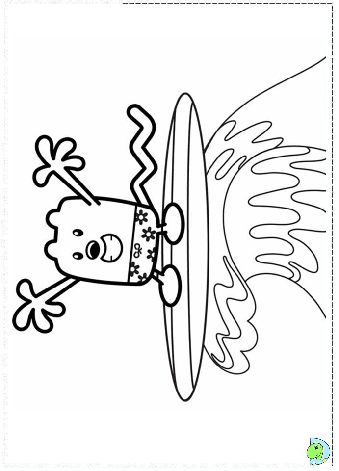 wa wa wubbzy coloring pages - photo #34