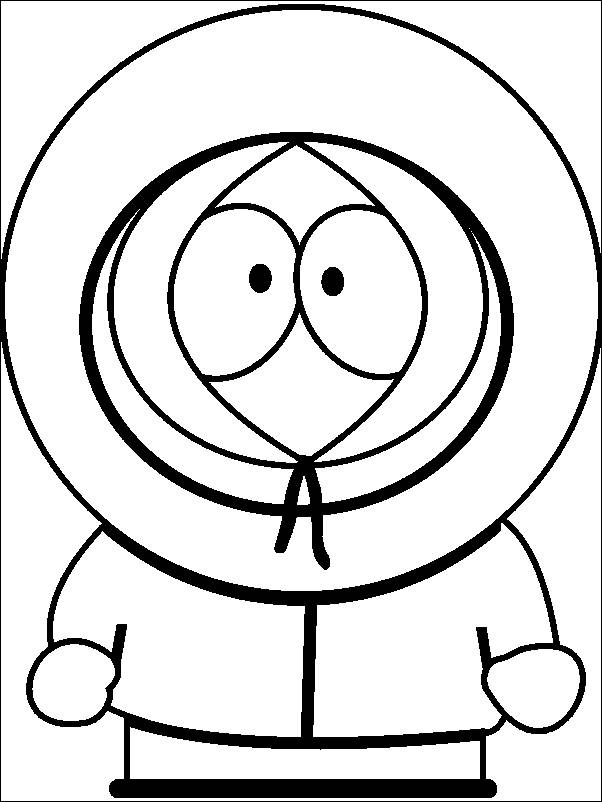 South Park Coloring Pages To Print Az Coloring Pages South Park Coloring Page