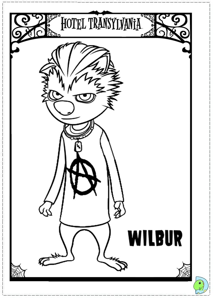 coloring pages hotel - photo#23