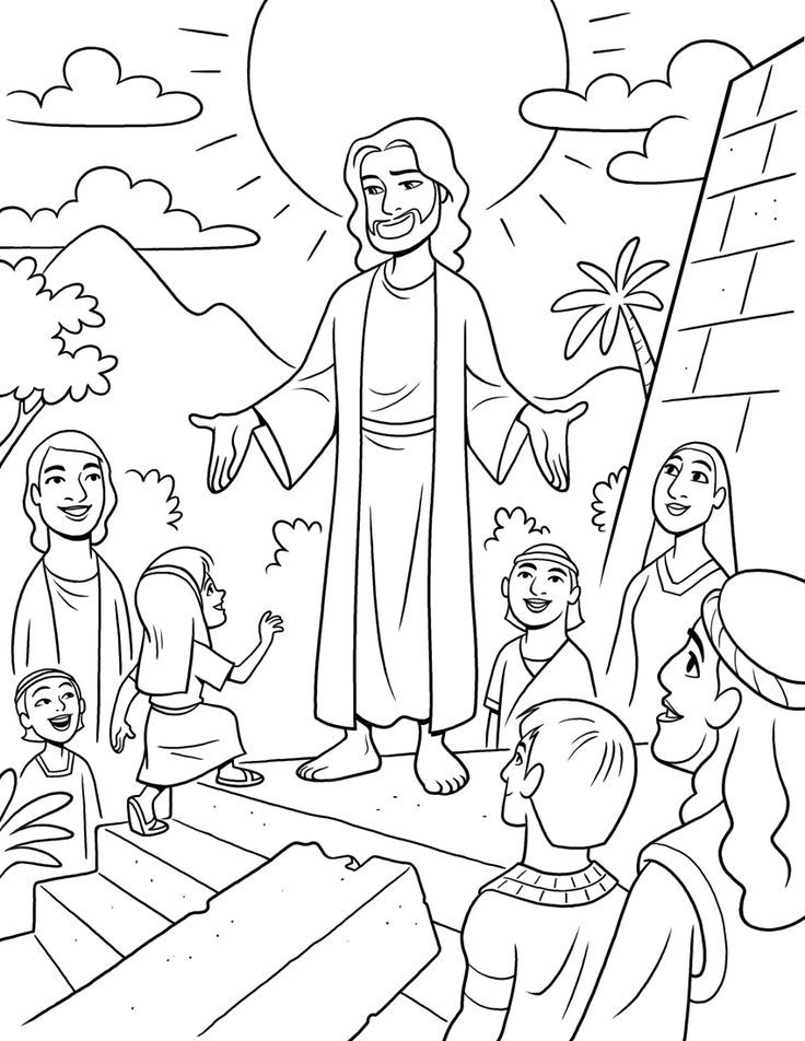 Lds Coloring Pages For Kids Coloring Home Lds Coloring Page