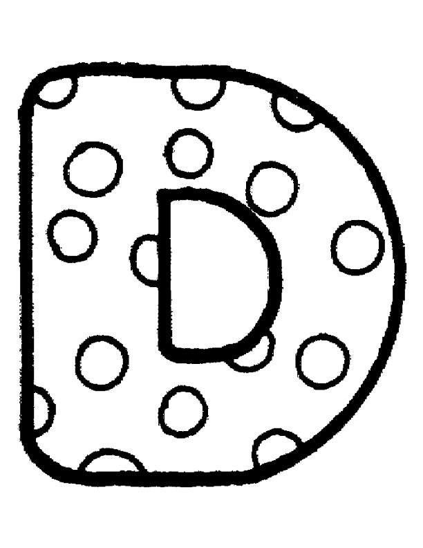 a bubble letter coloring pages - photo #3