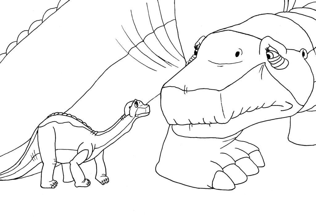 Hey arnold the land before time edition coloring home for The land before time coloring pages