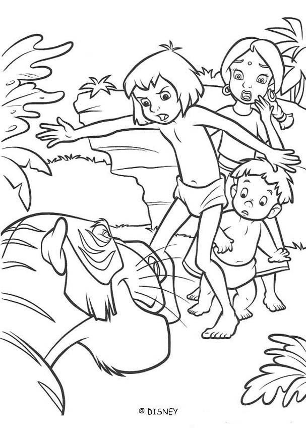 Jungle Book 2 Coloring Pages - Coloring Home