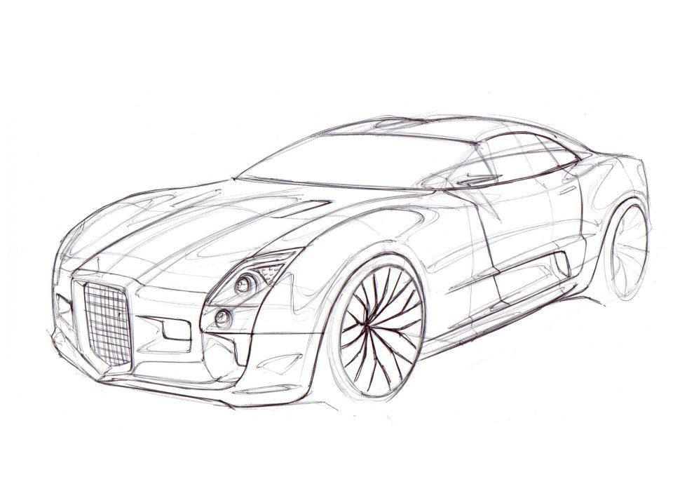 sport car coloring pages