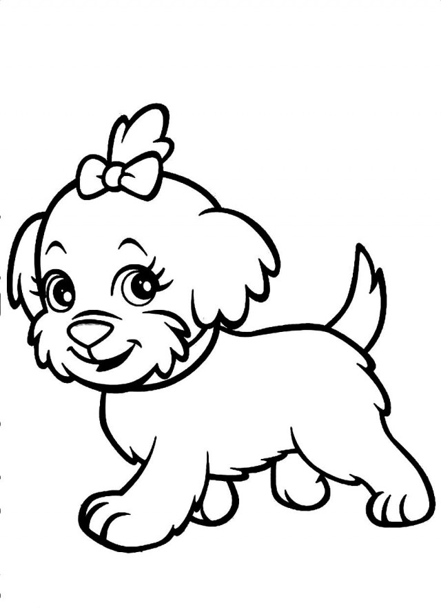 dog running coloring pages - photo#18