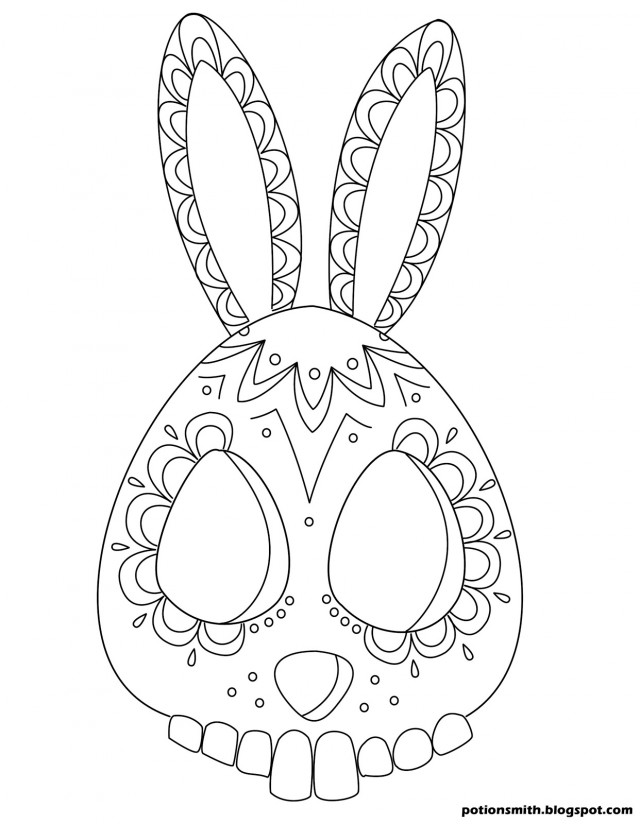 April 2014 SheWalksSoftly Page 2 190472 Sugar Skull Coloring Pages