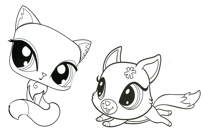 littlest pets shop coloring pages - photo#15