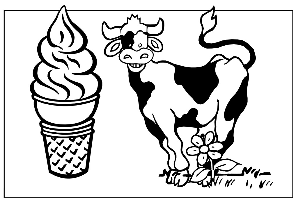 Cow Pictures For Children - AZ Coloring Pages