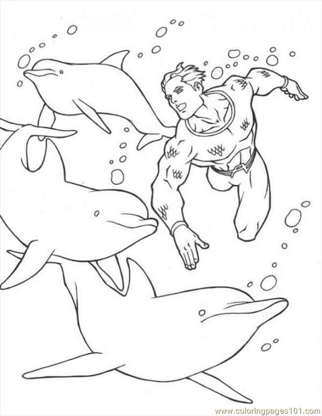 Coloring Pages Dolphins Coloring Source Wrk (Sports > Swimming