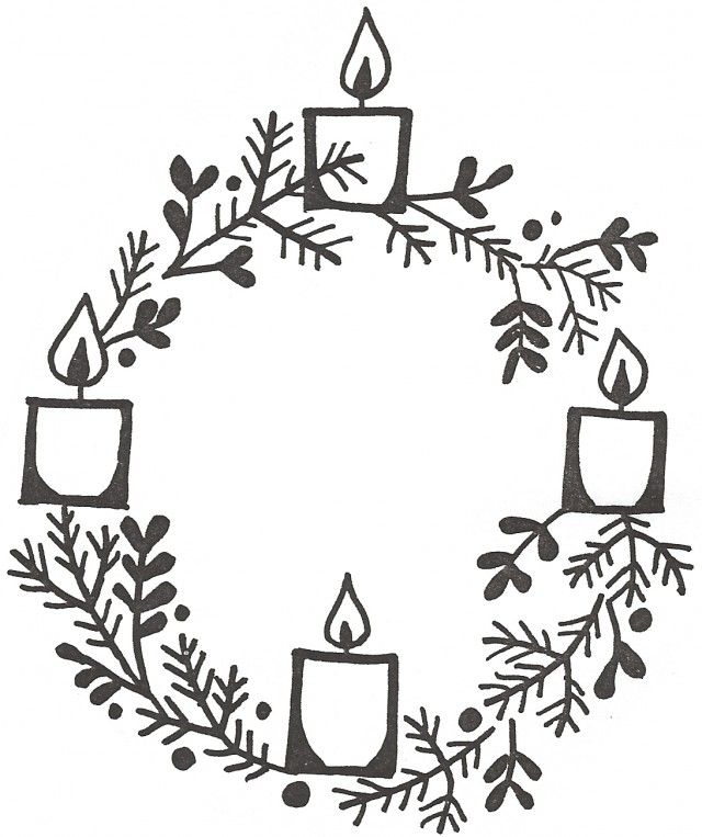 Advent bulletins: Candles – Stushie Art | 763x640