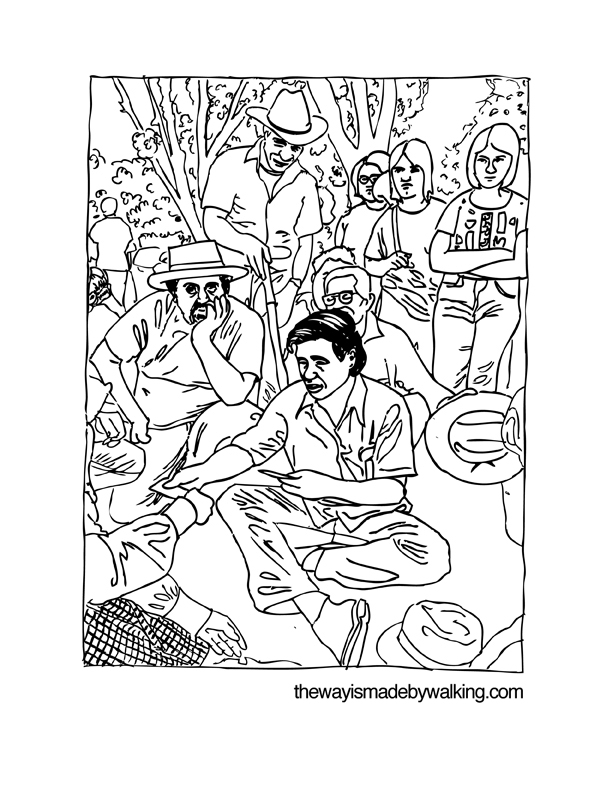 coloring pages about cesar chavez - photo#3