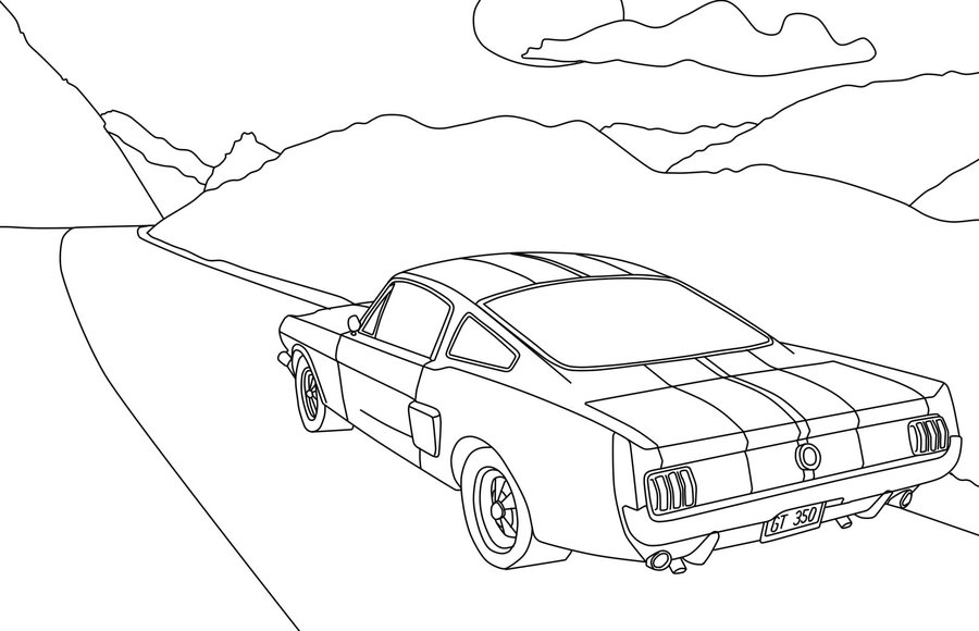 how to draw the front of a car