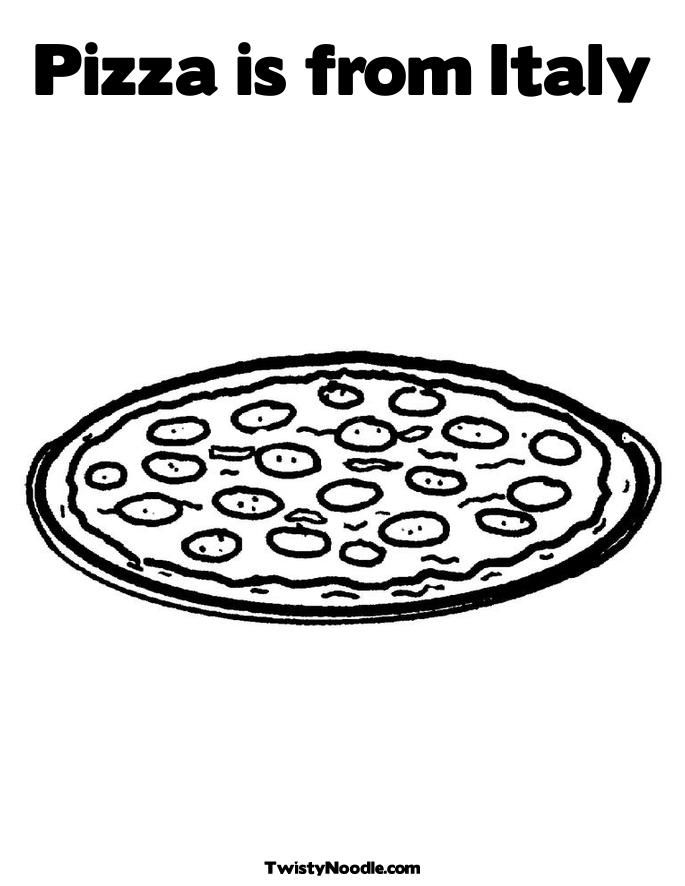Italy Coloring Pages