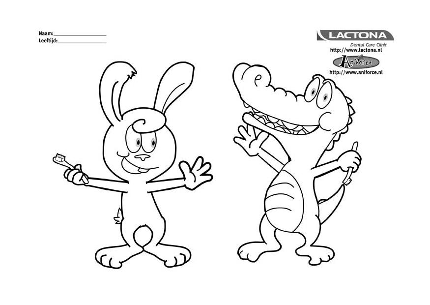 free coloring pages on hygiene - photo#23