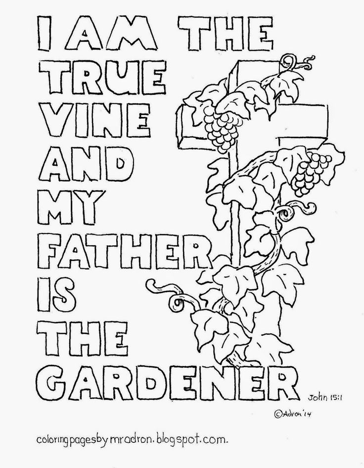 I am the vine coloring page coloring home for I am coloring pages