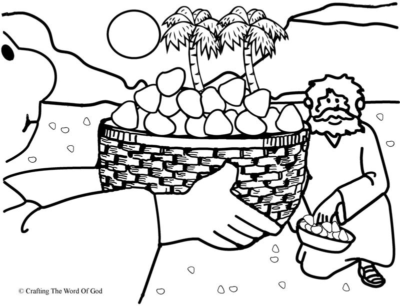 bible crafts coloring pages - photo#36