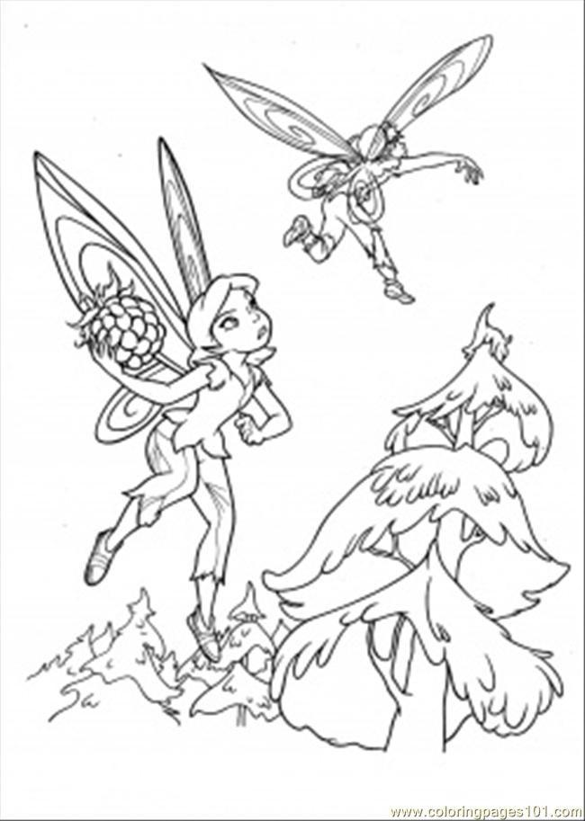 silvermist coloring pages - photo#27