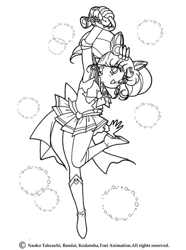 sailor moon coloring pages characters - photo#27
