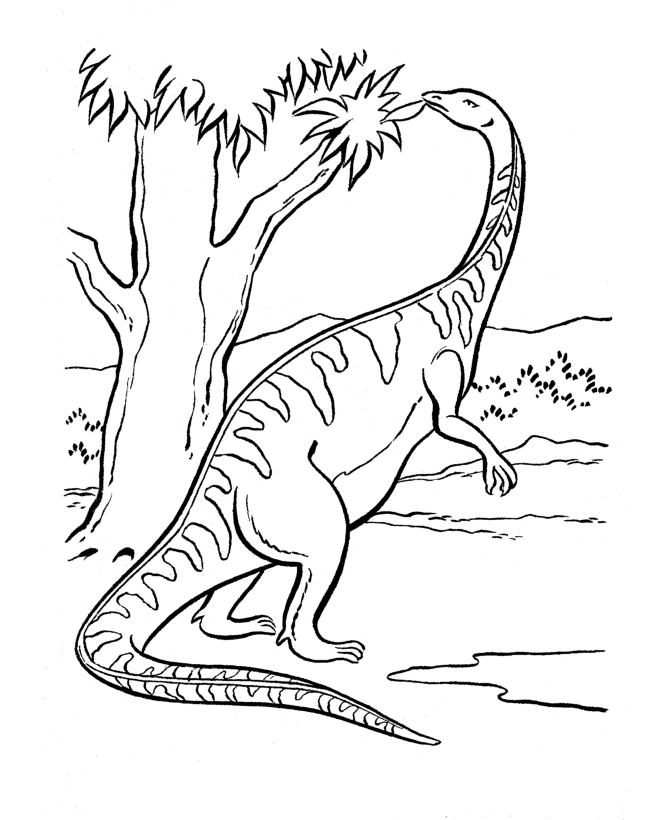 Free Dinosaur Coloring Pages To Print