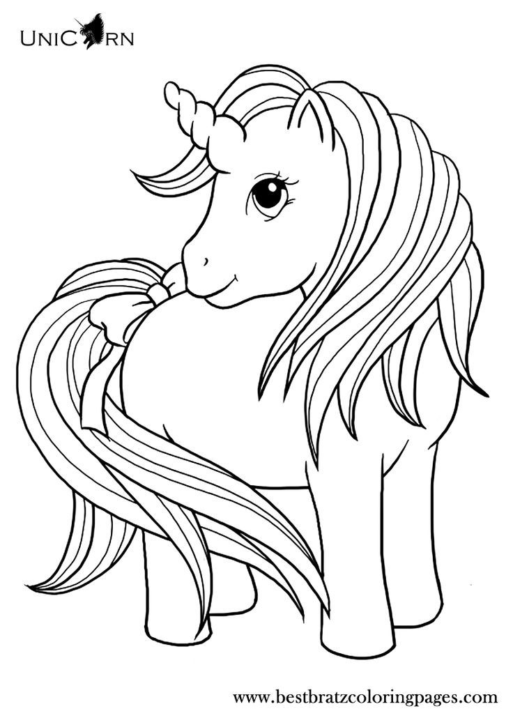 childrens coloring pages unicorn - photo#6