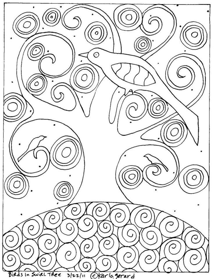 Mosaics Coloring Pages