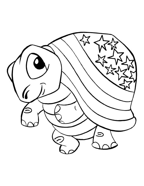 Colouring Picture Tortoise : Tortoise Pictures To Colour Coloring Home