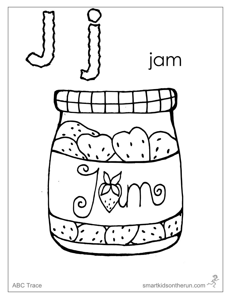 j coloring pages - photo #39
