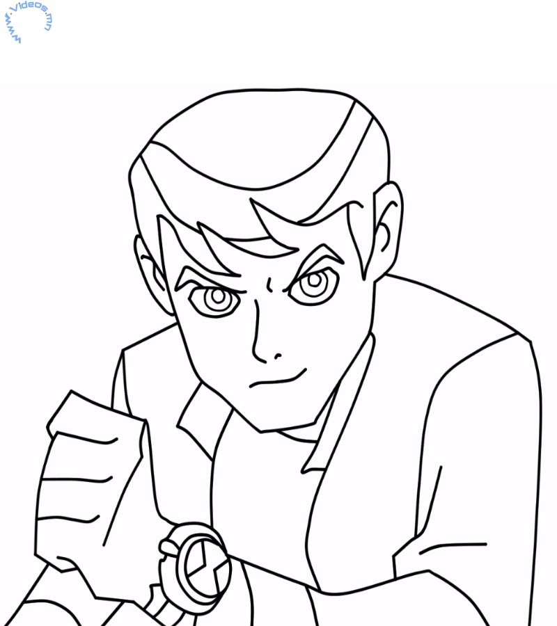 ben 10 fasttrack coloring pages - photo#11