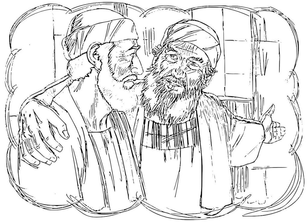 The Prodigal Son Coloring Pages Coloring Home Prodigal Coloring Pages