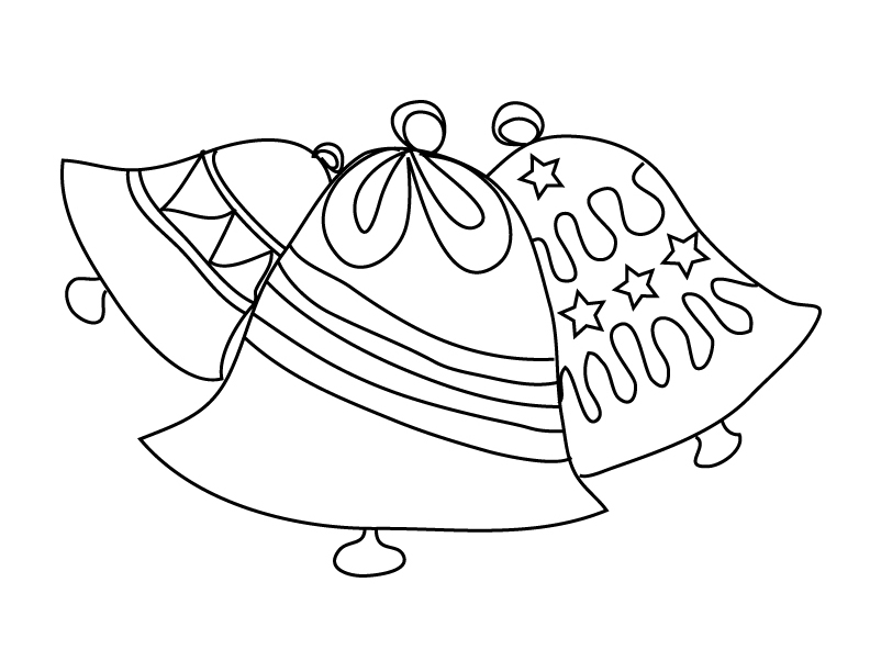 jingle bells coloring pages - photo#25