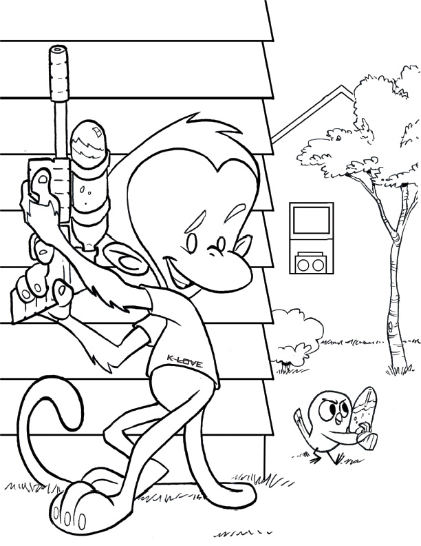 Isaac And The Wells Coloring Pages