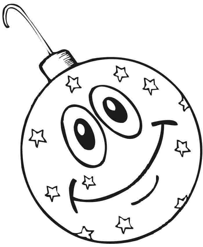 Christmas Tree Ornament Coloring Pages Coloring Home Tree Coloring Pages Ornaments