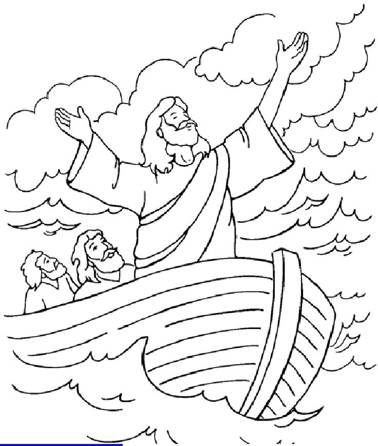 ocean storm coloring pages - photo#2