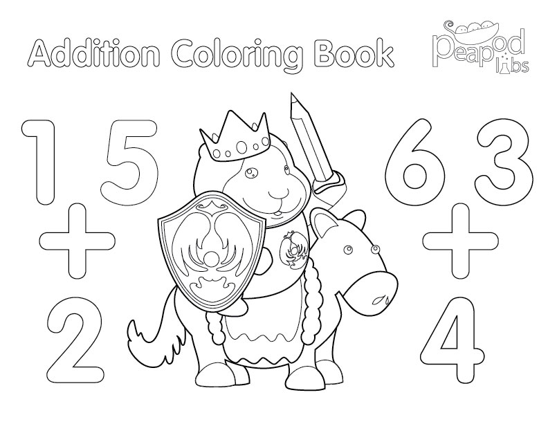 addition coloring pages - photo#20