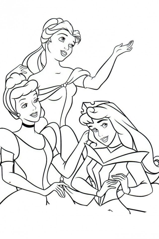 Disney All Princess Coloring Pages Bing Images All Princesses Coloring Pages
