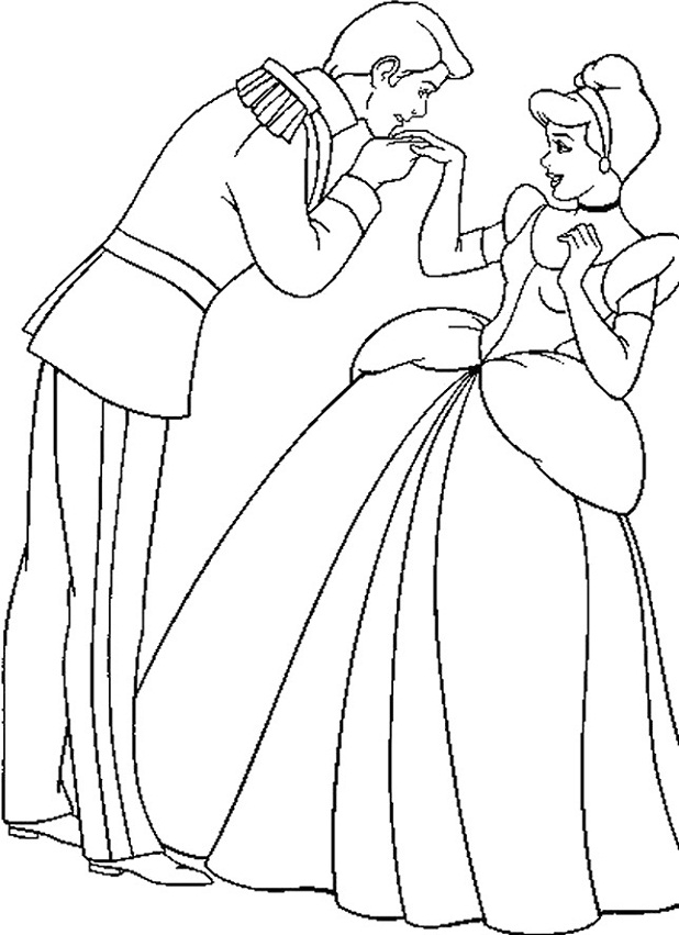 kiss coloring pages - free coloring pages of cartoon people kissing