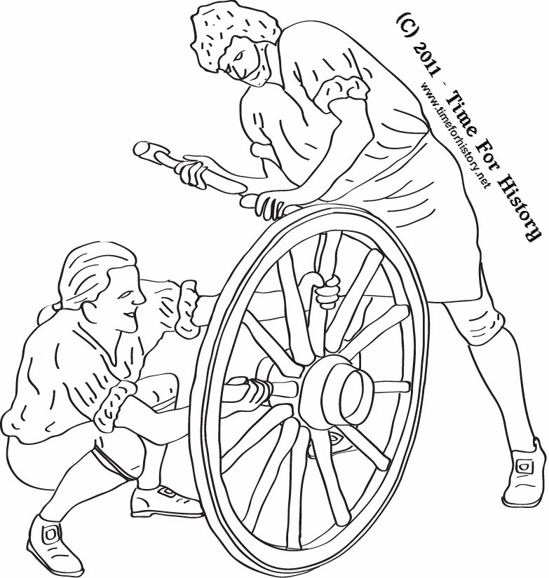Colonial coloring pages az coloring pages for Colonial coloring pages