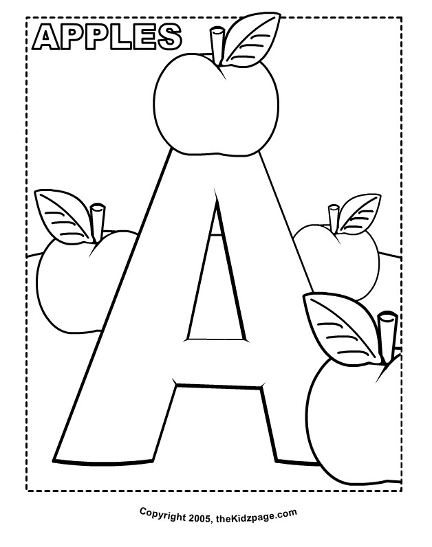 Free Printable Alphabet Sheets Toddlers