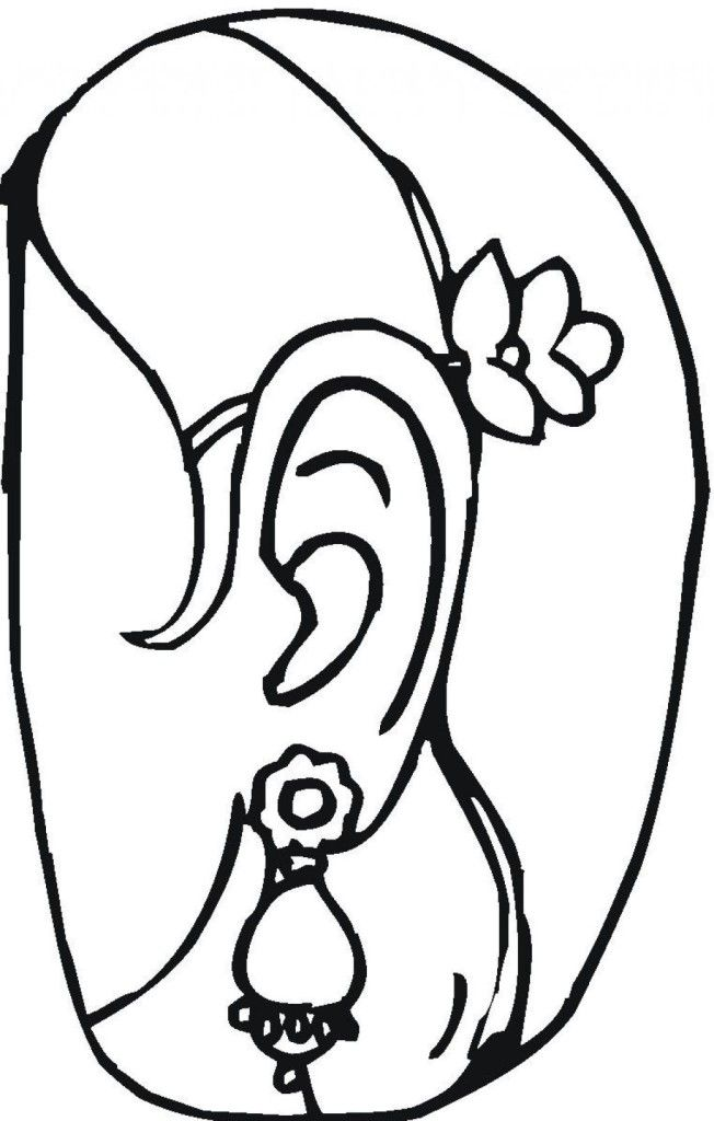 jewlery coloring pages - photo#17