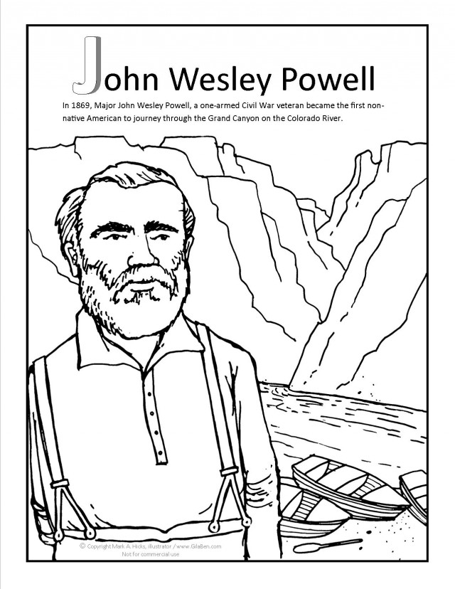 grand canyon coloring pages - photo#34